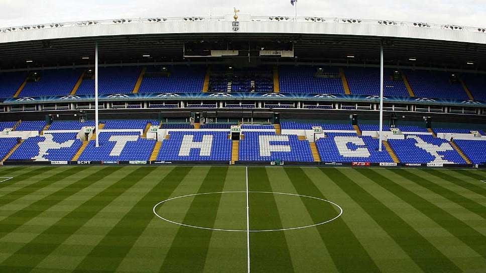 White Hart Lane hemmaarena Tottenham Hotspurs, Premier League. Tar dig till fotbollsresor och fotbollsbiljetter i norra London, England.