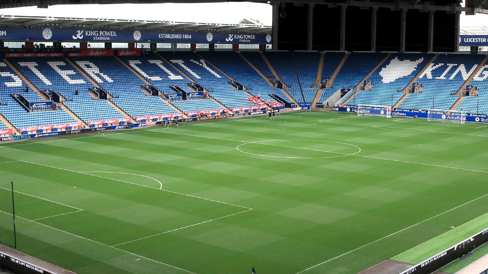 King Power Stadium för Leicester City, England. Boka dina fotbollsresor och biljetter till Leicester City i Premier League här.